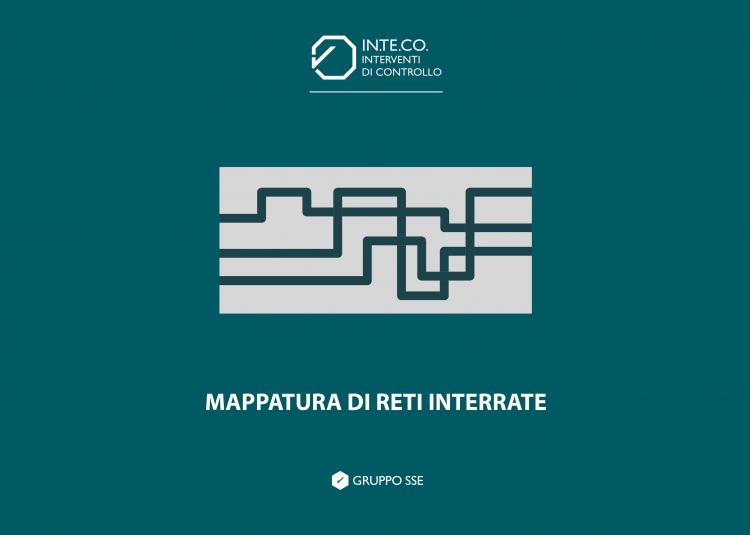 mappatura di reti interrate